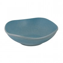 Zuma Organic Shaped Bowl 170mm Denim