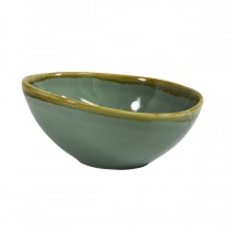Coast Triangular Bowl Aqua Green 160mm
