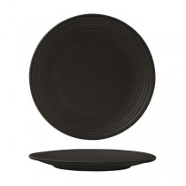 Zuma Coupe Plate Ribbed 265mm Charcoal (6)