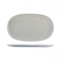 Moda Porcelain Oval Coupe Plate Willow 405 x 240mm