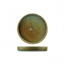 Nourish Round Stackable Plate Fired Earth 180 x 25mm