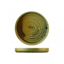 Nourish Stackable Plate Fired Earth 205 x 25mm