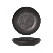 Luzerne Round Share Bowl Lava Black 225mm