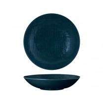 Luzerne Share Bowl Linen 230mm Navy Blue