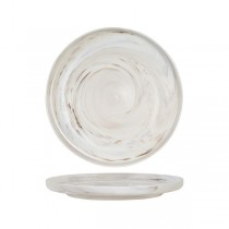 Luzerne Signature Round Plate 280mm Marble
