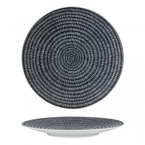 Luzerne Zen Round Coupe Plate 310mm Black Storm