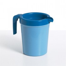 Healthcare Insulated Jug 1L Blue 'No Lid'