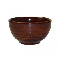 Churchill Bit On The Side Ripple Bowl 560ml Cinnamon