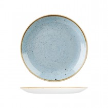 Churchill Stonecast Round Coupe Plate 260mm Duck Egg