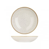 Churchill Stonecast Round Coupe Bowl 248mm Barley White