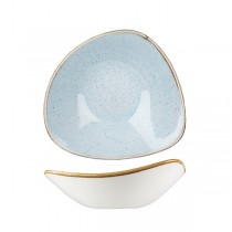 Churchill Stonecast Triangular Bowl 230mm Duck Egg