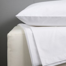 Everyday Collection Fitted Single Sheet White