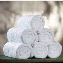 Image of Alliance Sterling White Bath Towel