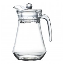 Arcoroc Jug Pitcher With Lid 1.3ltr (6)