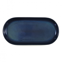 Artistica Oval Coupe Plate 300 x 140mm Midnight Blue