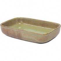 Image of Artistica Rectangular Dish Flame 170 x 105 x 40mm