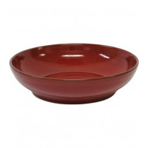 ARTISTICA ROUND BOWL FLARED REACTIVE RED 230 X 55MM