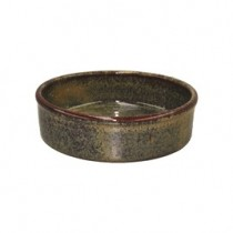 Image of Artistica Round Tapas Dish Reactive Brown 145 x 45mm