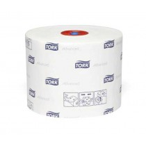 Image of Tork Advanced 2Ply Toilet Paper Compact Roll
