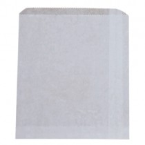 Bag Greaseproof Lined 1/2's White 185 x 165mm (500)