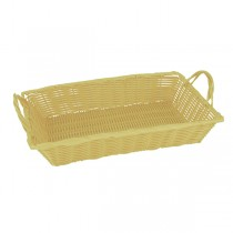 Basket Bread Banquet W/Handles 450 x 300 x 80mm