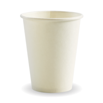 Biopak BC-12W Hot Paper BioCups 12oz White