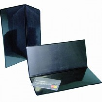 Bill/Card Holder 20 x 10cm Black
