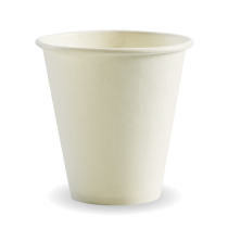 Biopak BC-8W(90)  Hot Paper BioCups 8oz White (1000)