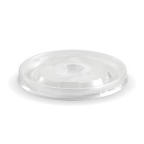 Biopak BSCL-8 PP Lid Only To Suit 250ml Bowl Clear