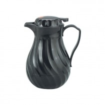Jug Insulated 1.2ltr Swirl Plastic Black