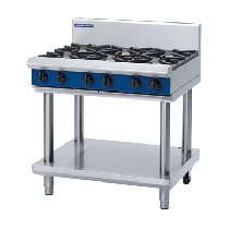 Blue Seal G516D-LS Cooktop 6 Burner With Leg Stand *LPG*