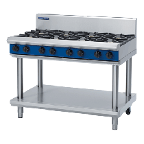 Blue Seal G518D-LS Cooktop 8 Burner With Leg Stand *LPG*