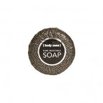 Body Zone Black Label Vegetable Soap In Shrink Wrapped Foil 40g