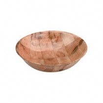 Bowl Wood Woven 250mm