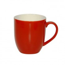 BREW MUG CHILLI/WHITE 380ML