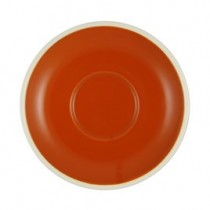 Brew Saucer 140mm/55mm Saffron/White Suits BI252626/BI252629 (6/36)