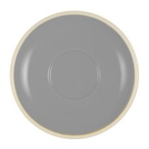 Brew Saucer 140mm French Grey/White to Suit BI253070 6/Pkt (6)