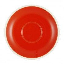 BREW SAUCER CHILLI/WHITE 140MM/57MM SUITS 25276