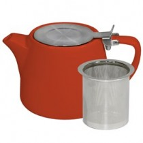 Brew Teapot Stackable 500ml Saffron 6/Pkt (6)