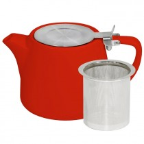 BREW TEAPOT STACKABLE CHILLI 500ML