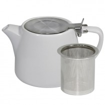 BREW TEAPOT STACKABLE WHITE 500ML