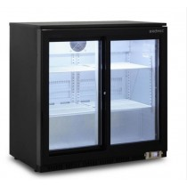 Bromic BB0200GDS Backbar Display Fridge 2 Sliding Glass Doors
