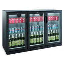 Bromic BB0330GD Backbar Display Fridge 3 Glass Doors