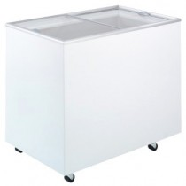 Bromic CF0300FTFG Chest Freezer Flat Glass Top 296ltr