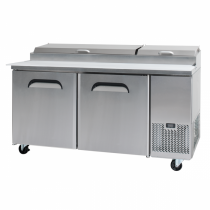 Bromic PP1700 Pizza Prep Fridge 2 Door