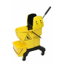 Bucket Enduro Press Complete With Wringer Yellow