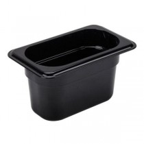 Image of Cambro Food Pan Black 1/9 Size