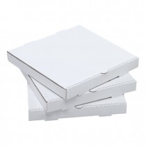 Pizza Box 25cm White 50/Pkt