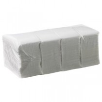 Caprice Duro 1ply Lunch Napkin White 500/Pkt