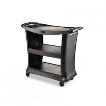 Rubbermaid Executive Service Cart Black (1)
